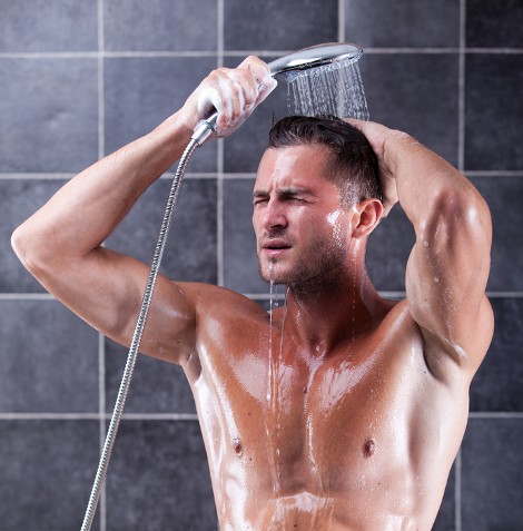 Duschen Mann